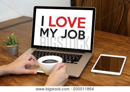 Good Job Assistant I Love My Job  Businessman And Businesswoman Successful Work