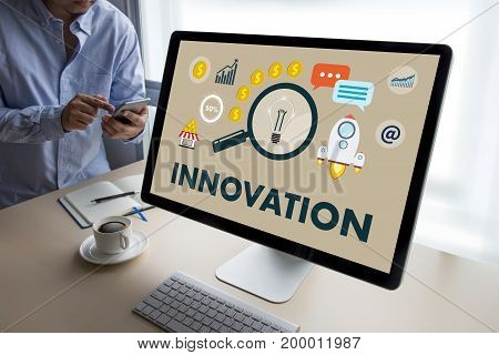 Innovation Think Creative Ideas Invent Knowledge Creative Process