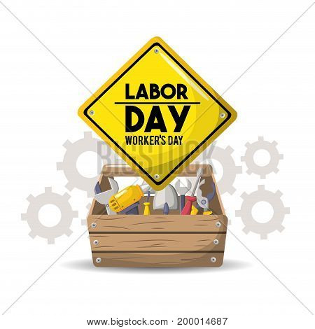 profesional labor day national celebration vector illustration