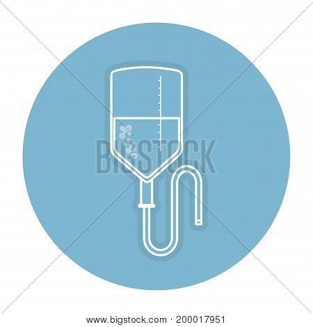 blood bag donation icon vector illustration design