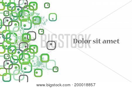 Bio cells. Abstract vector illustration for concept design