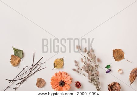 Autumn Background With Copy Space For Text