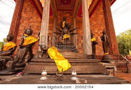 Statues Of Buddha.