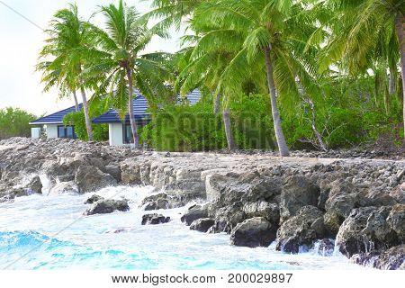 Modern bungalow at sea resort