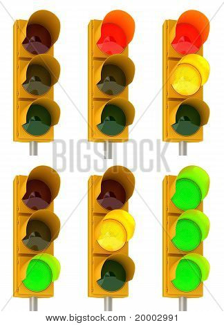Traffic Light Combinations