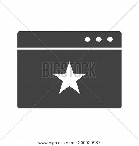 Website, online, promotion icon vector image. Can also be used for IT Services. Suitable for mobile apps, web apps and print media.