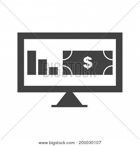 Business, financial, information icon vector image. Can also be used for news and media. Suitable for mobile apps, web apps and print media.