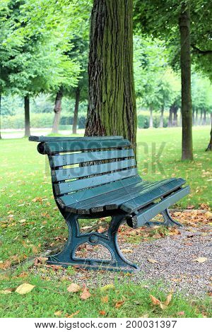 An image of a park bench - park