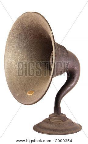 Early Radio Loudspeaker Horn