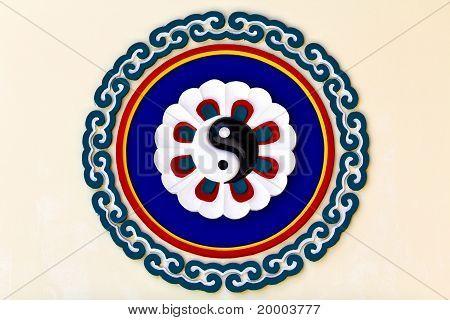 Colorful Yin-yang Sign