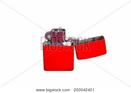 Cigarette lighter isolated on white background. isolated