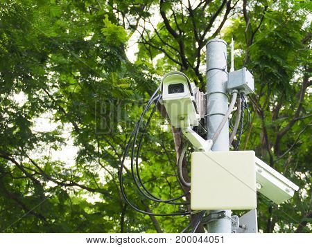 CCTV is best surveillance and good evidence.