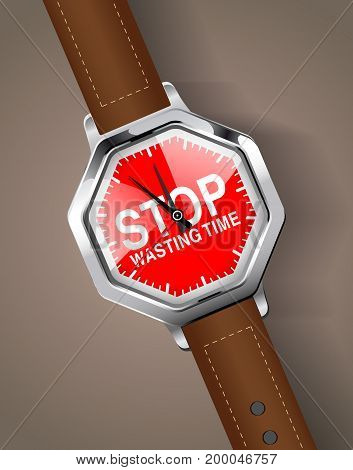 Stopwatch - Stop Wasting Time.eps