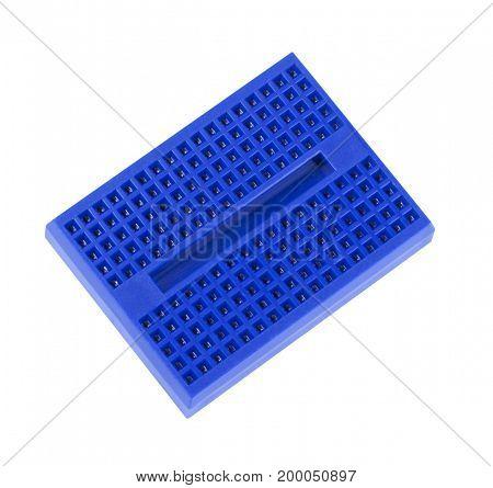 image of one Mini Solderless Prototype Breadboard isolated
