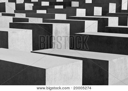 The Holocaust Memorial At Berlin