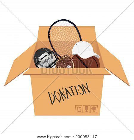 Isometric Donation Box