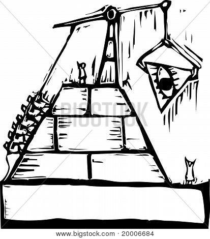 Masonic Pyramid Construction