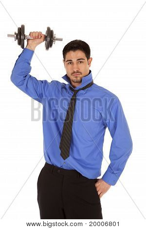 Business Man Working Out