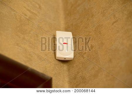 Motion sensor or detector for security system .