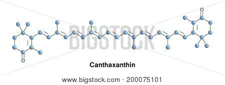 Canthaxanthin is a keto-carotenoid pigment widely distributed in nature. Carotenoids belong to a larger class of phytochemicals known as terpenoids.