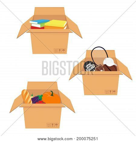 Box With Food