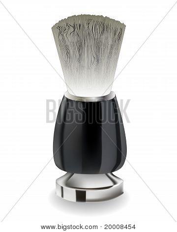 Shaving Brush With Black Handle