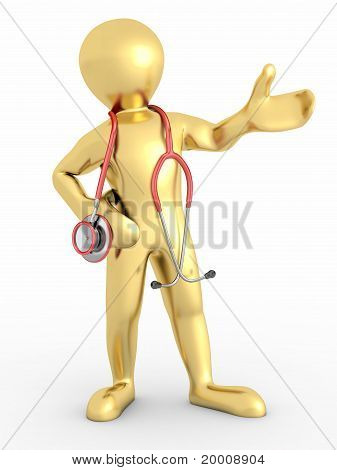 Men With Stethoscope