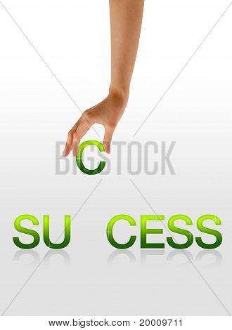 Success - Hand