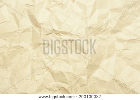 Сrumpled paper texture. Abstract background. Copy space
