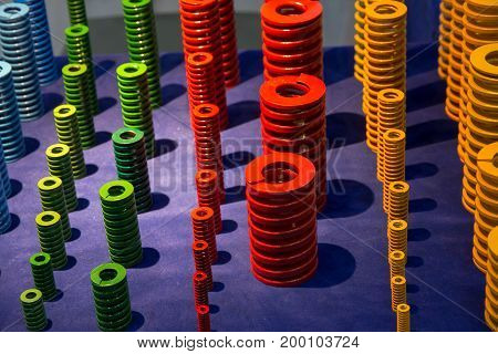 Product of standard coil spring for industry