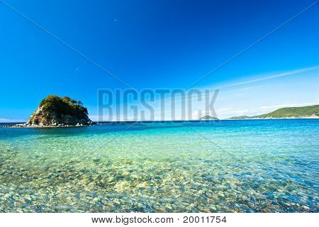 La Paolina Beach, Elba Island.