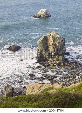 Ocean Monoliths at Mile Rock