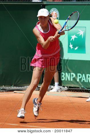 Regina Kulikova (rus) At Roland Garros 2011