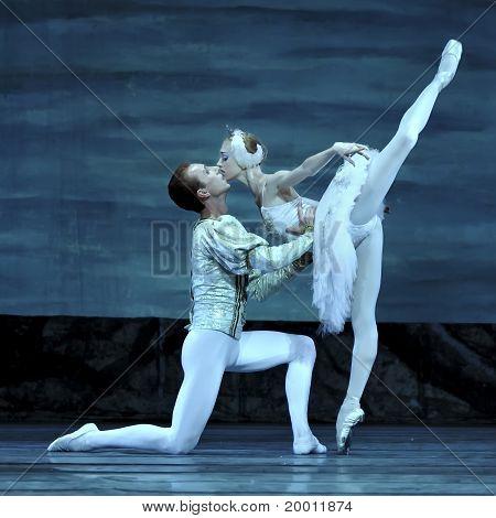 Russian Royal Ballet Perform Swan Lake Ballet