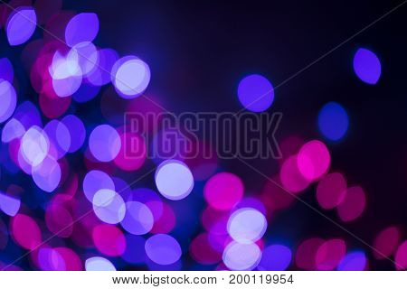Abstract casino bokeh lights. Gambling concept background.