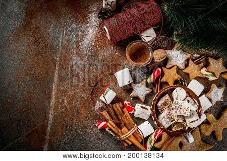 New Year And Christmas Sweets