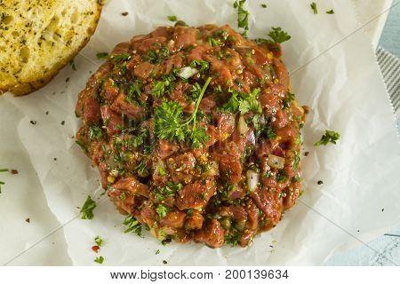 Raw Organic French Beef Tartare