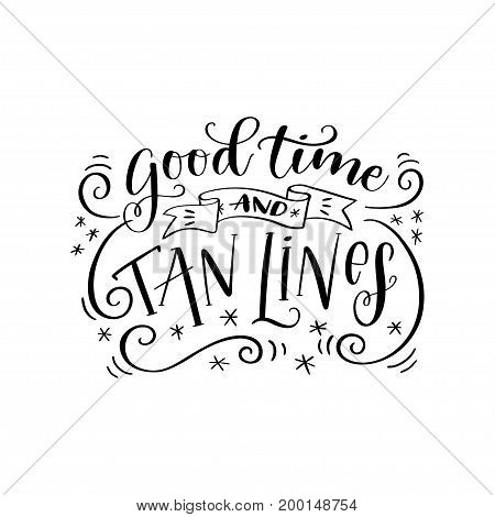 Handwritten lettering phrase