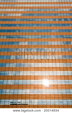 Facade Of A Modern Skyscraper