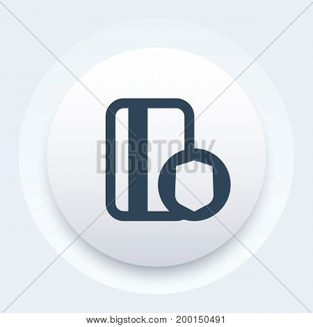 secure payment, credit card and shield vector icon, safe transaction