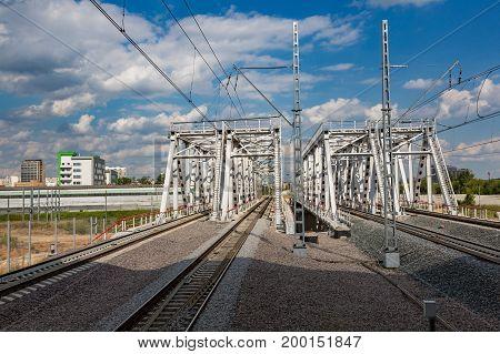 Railroad Through The City