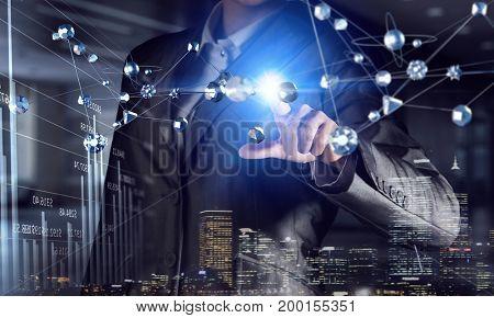 Using innovative technologies. Mixed media . Mixed media