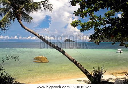 View Across A Bay In Thailand