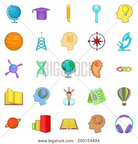 Volume icons set. Cartoon set of 25 volume vector icons for web isolated on white background