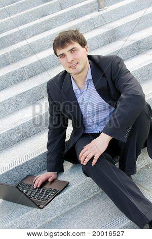 Modern business man
