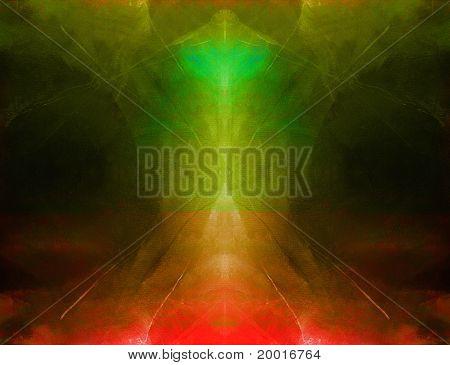 Abstract Art Symmetrical