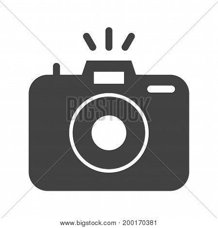 Camera, photography, lens icon vector image. Can also be used for news and media. Suitable for mobile apps, web apps and print media.
