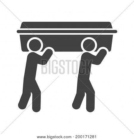 Funeral, police, cemetery icon vector image. Can also be used for funeral. Suitable for mobile apps, web apps and print media.