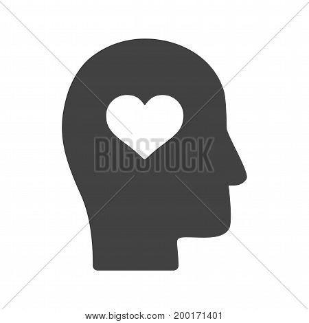 Intelligence, emotional, business icon vector image. Can also be used for soft skills. Suitable for mobile apps, web apps and print media.