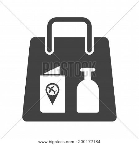 Items, airport, check icon vector image. Can also be used for airport. Suitable for mobile apps, web apps and print media.